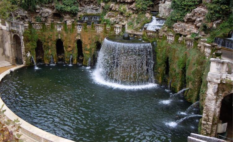 Hotel ideale per visitare Villa D'Este Tivoli