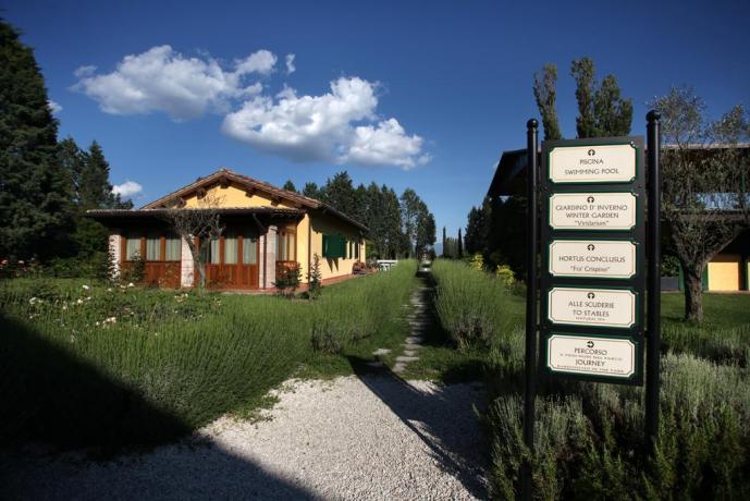 Ampio giardino e area verde