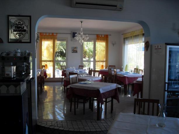 Hotel con ristorante interno a Campofilone