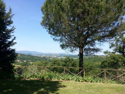 Villa in affitto Umbria e Toscana panoramica