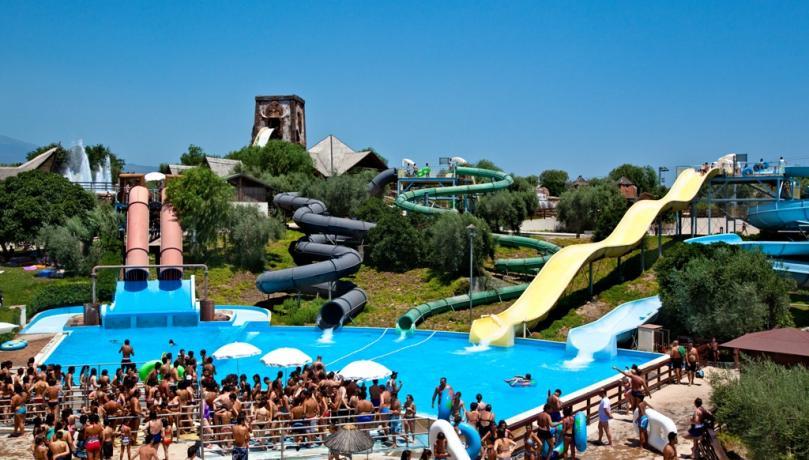 Scivoli e divertimento al Parco Etnaland