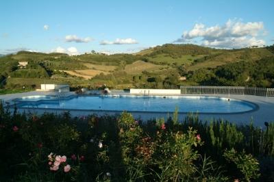 Vista Panoramica. Le colline di Gubbio in Umbria