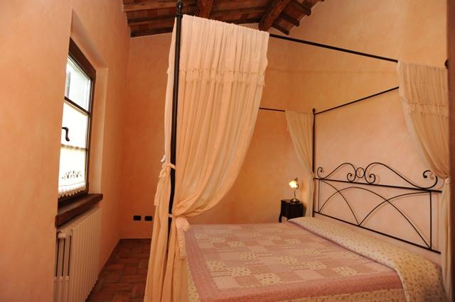 Camera matrimoniale appartamento Quercia Rossa