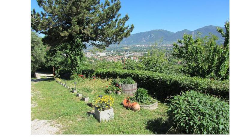 giardino panoramico casa vacanze I DOLCI ALBERI