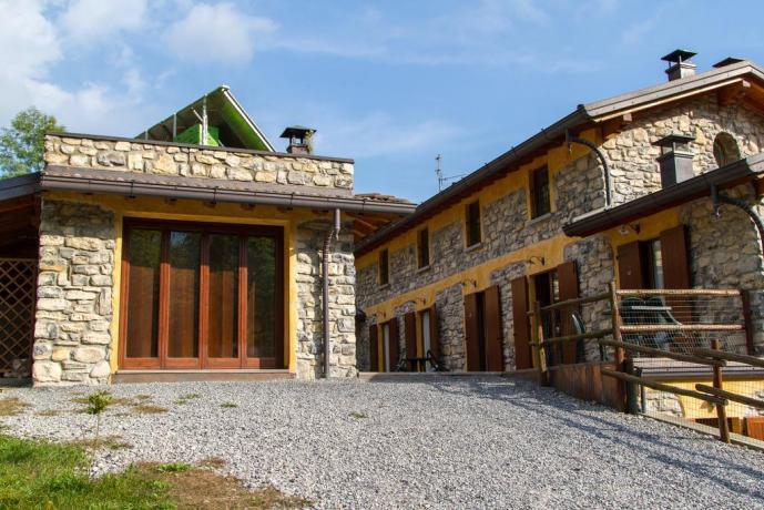 Camere Agriturismo vicino il Lago di Como
