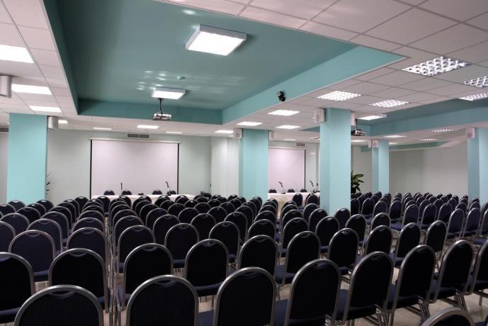 Sala per convegni nel Resort a Castellana