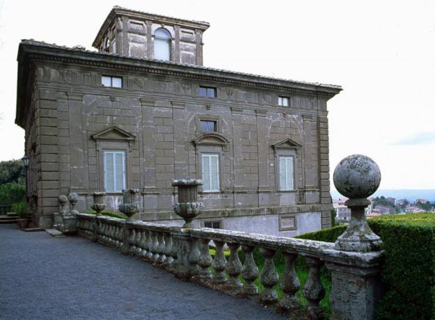 Esterno Villa Lante a Bagnaia