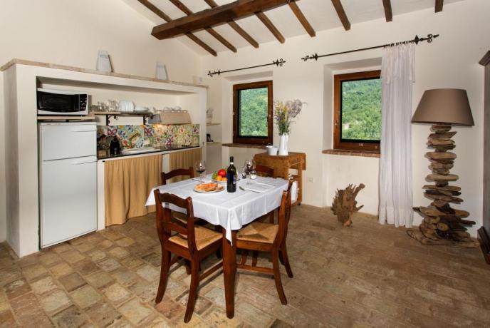 Villa Perugia appartamento con cucina