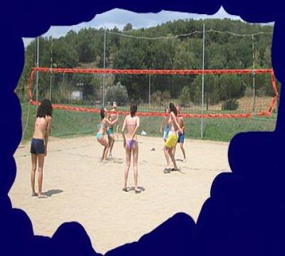 Attività sportive: campo da pallavolo