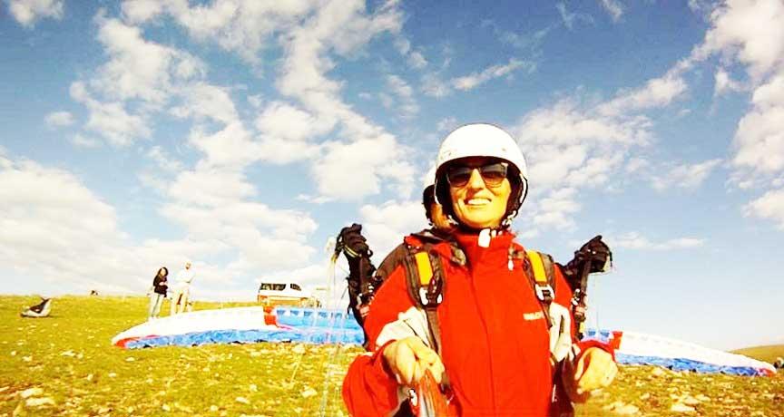 Volare con Parapendio Biposto nelle Marche