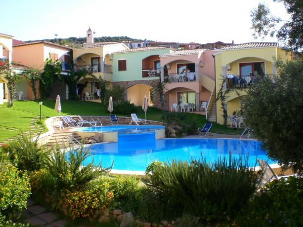 residence immerso in stupendo paesaggio con piscina