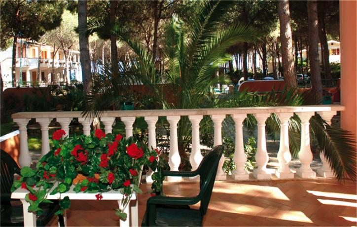 Veranda Appartamento Villa Sa Prama Orosei in Sardegna
