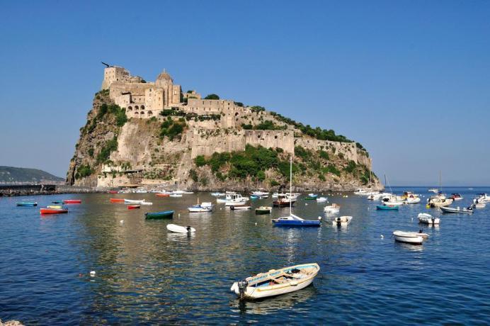Il Castello Aragonese a Ischia