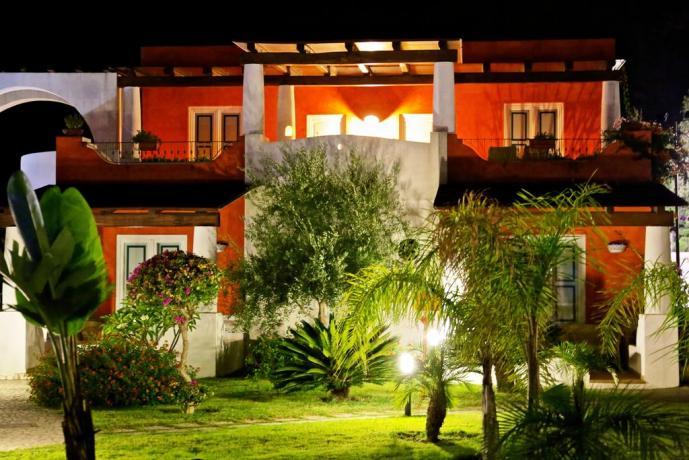 Hotel vista mare a Lipari