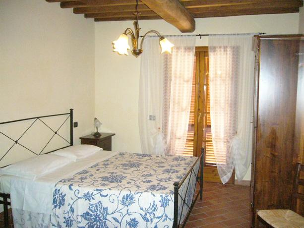 Camera Matrimoniale Agriturismo in Toscana