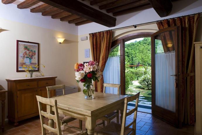 appartamenti nel residence con piscine e ristorante