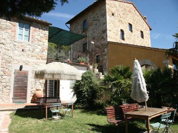 Relais a Calenzano vicino Prato con giardino