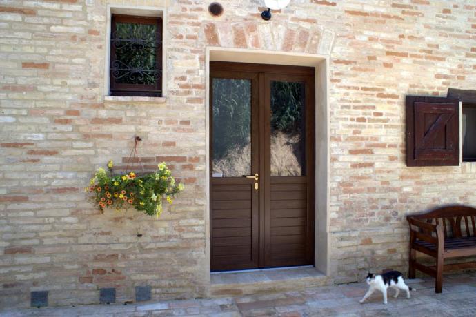 Villa a Macerata animali ammessi