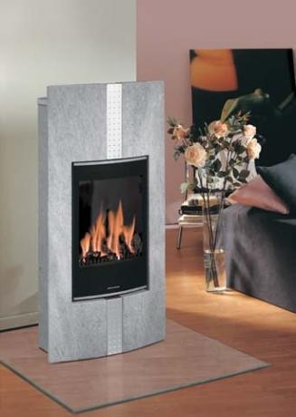 Stufe a gas stufe a pellets caminetti da interno ed - Stufe a gas da parete ...