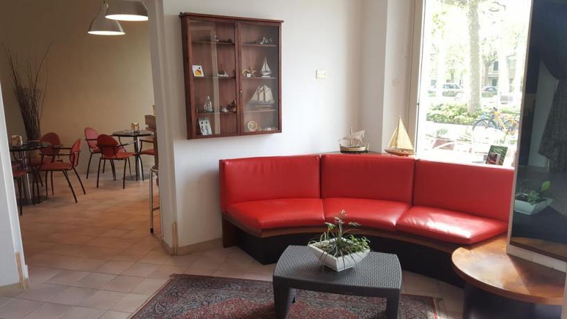 Zona giorno in Hotel a Fano