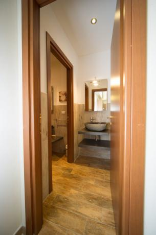 Bagno privato in appartamento-vacanze Bardonecchia