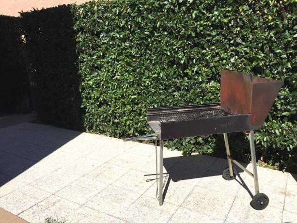 casa vacanza Assisi con barbecue