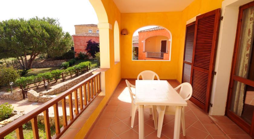 Terrazza panoramica in residence Vignola Mare