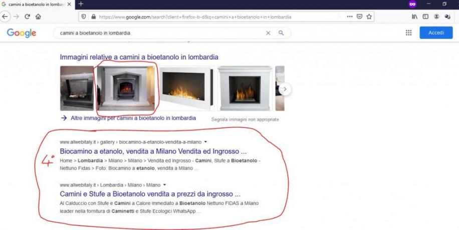 Come Fare Pubblicita sul Web: Camini-Bioetanolo-Lombardia