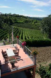 Terrazza privata, B&B a Pavia