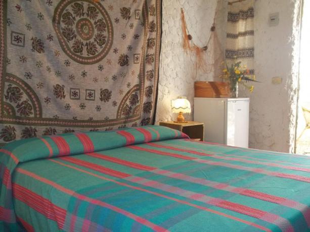 Camera matrimoniale in Hotel Lampedusa