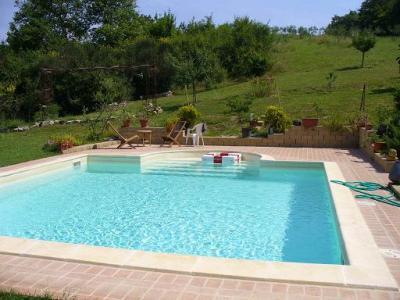 BB con piscina per gli ospiti