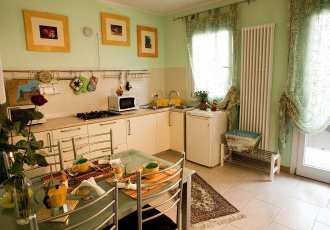 Appartamento Menta Selvatica cucina