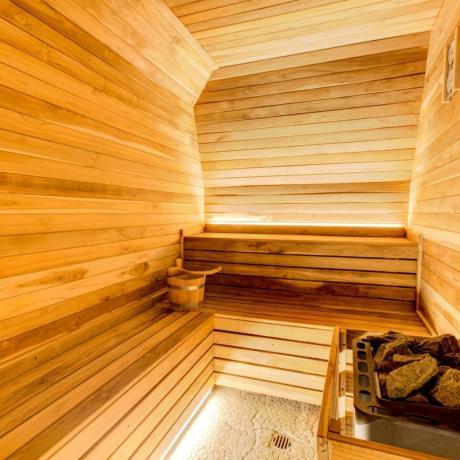 Centro benessere con sauna hotel4stelle vicino Rimini