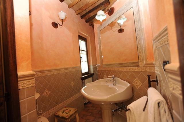 bagno privato in camera appartamento Magnolia