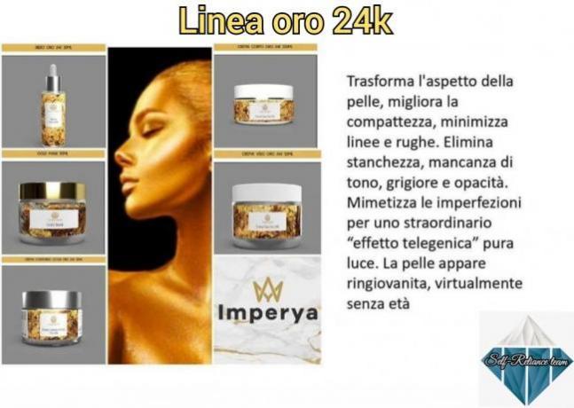 IMPERYA: Linea Oro 24k