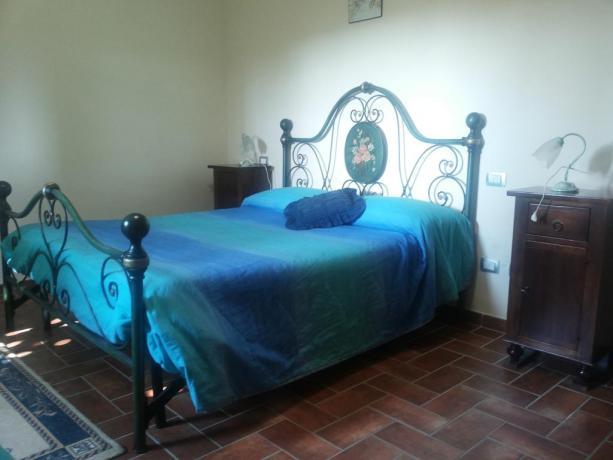 Camera matrimoniale agriturismo Montefalco