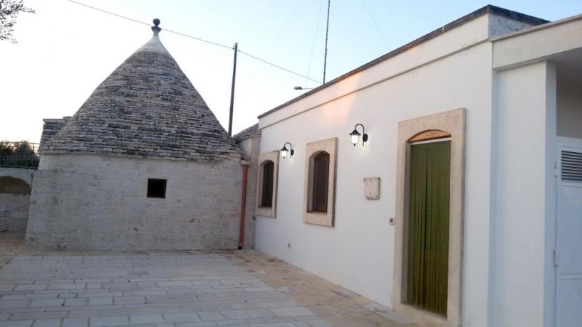 Ingresso Casa dei Campi Nunnacola, Alberobello