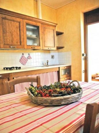Cucina appartamento per disabili