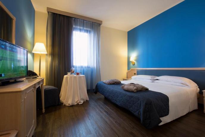 Hotel vicino Roma camera matrimoniale con vista