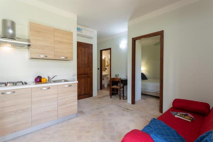 Appartamento con Divano Letto e Camera Matrimoniale