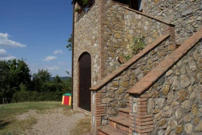 Ampio spazio esterno Agriturismo Roma