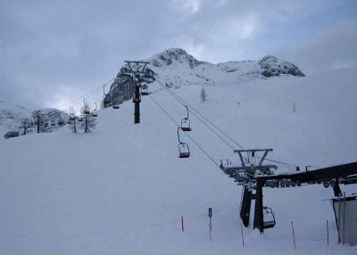 Accommodations near the skilifts, Sella Nevea, Italy