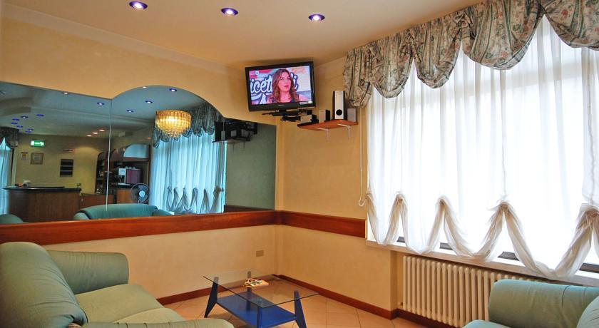 Tv nella sala comune