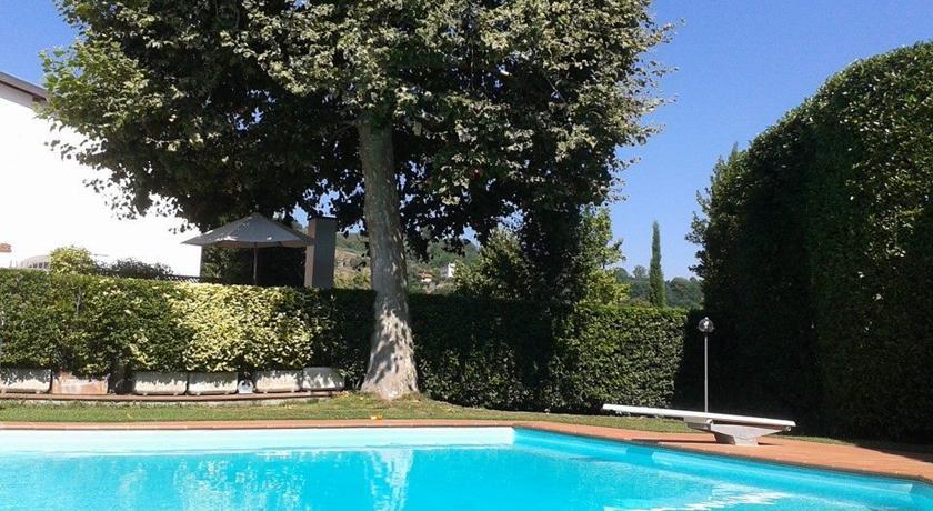 Piscina esterna della Villa nel Chianti