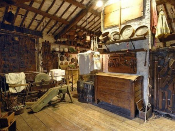 Esposizione mestieri Museo Civiltà Contadina Ferentillo