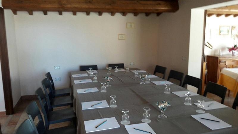 Sala riunioni, meeting, agriturismo nelle Marche