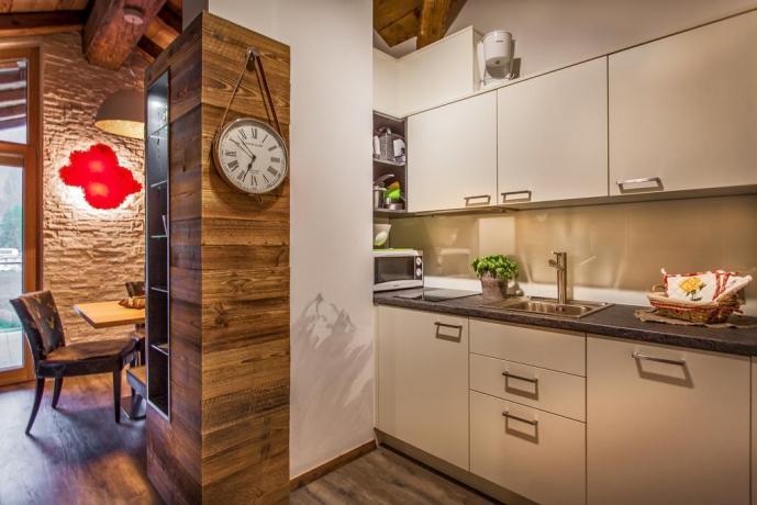 appartamenti moderni allo Chalet ad Alta Badia