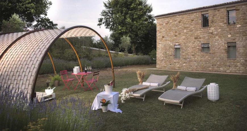 Suite con Idro 2 posti, Giardino Romantico esclusivo