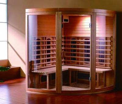 Vendita sauna professionale con cromoterapia