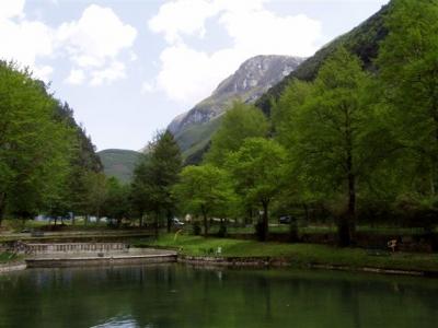 Parco avventura in Valnerina, Umbria
